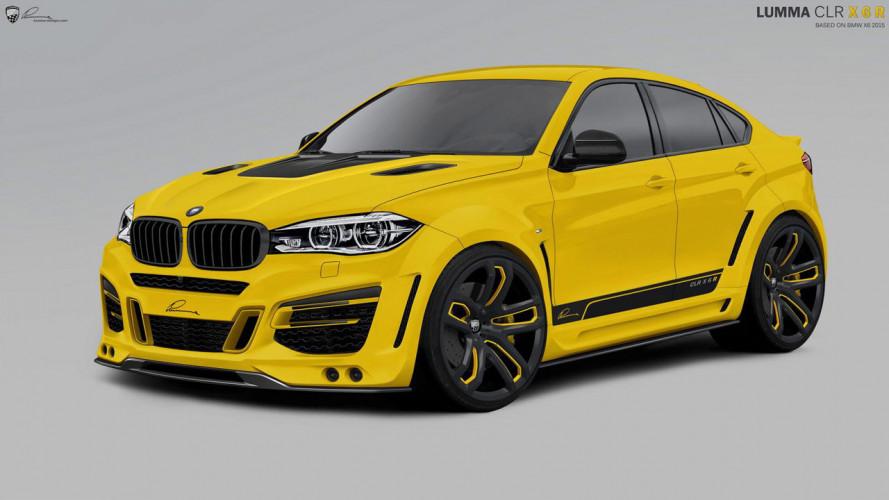 BMW X6 Lumma CLR X 650, esagerata in ogni senso