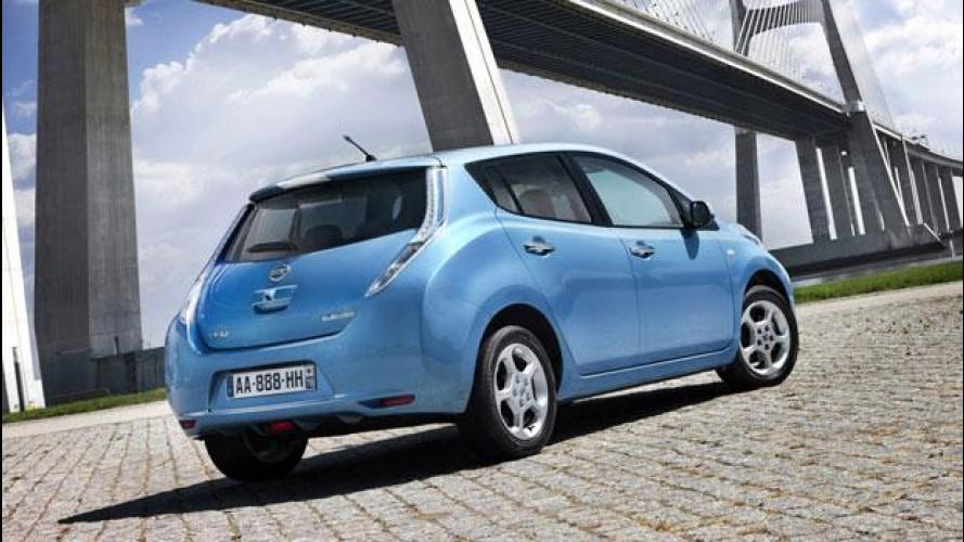 Nissan Leaf inizia l'Electric Vehicle Demonstrator Programme