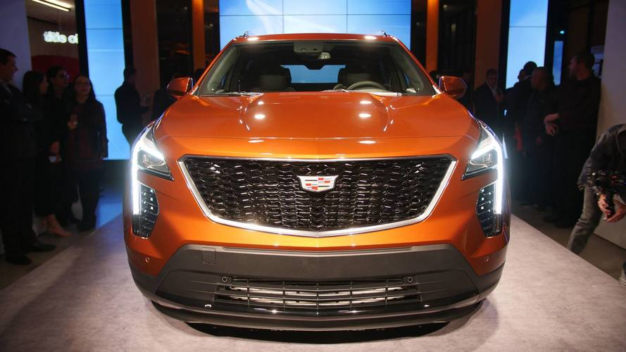 2019 Cadillac XT4 New York Auto Show