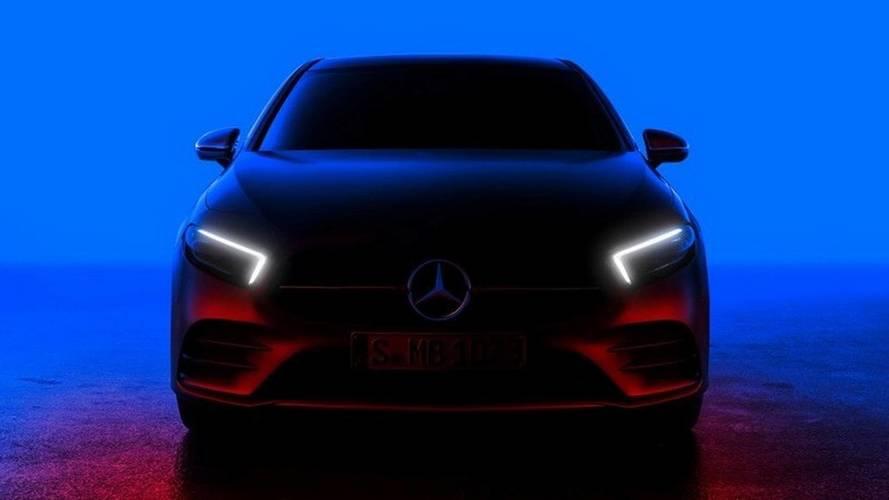 [GÜNCEL] 2018 Mercedes A-Serisi'nin teaser'ı yayınlandı