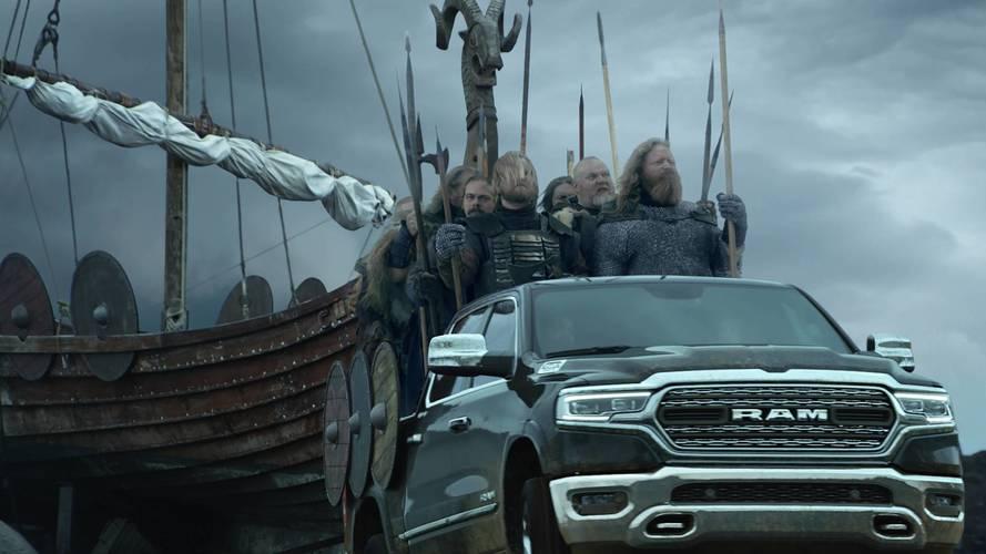 2019 Ram 1500, Vikings Invade Minneapolis With In Super ...