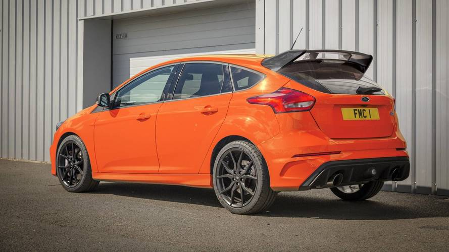 Boosted Ford Focus RS Heritage Edition announced in UK