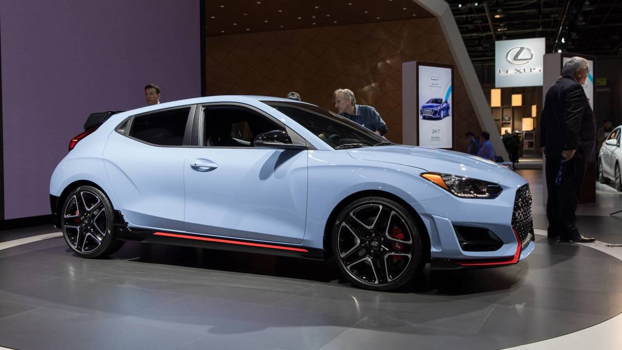 2019 hyundai veloster n coming to u s with 275 hp. Black Bedroom Furniture Sets. Home Design Ideas