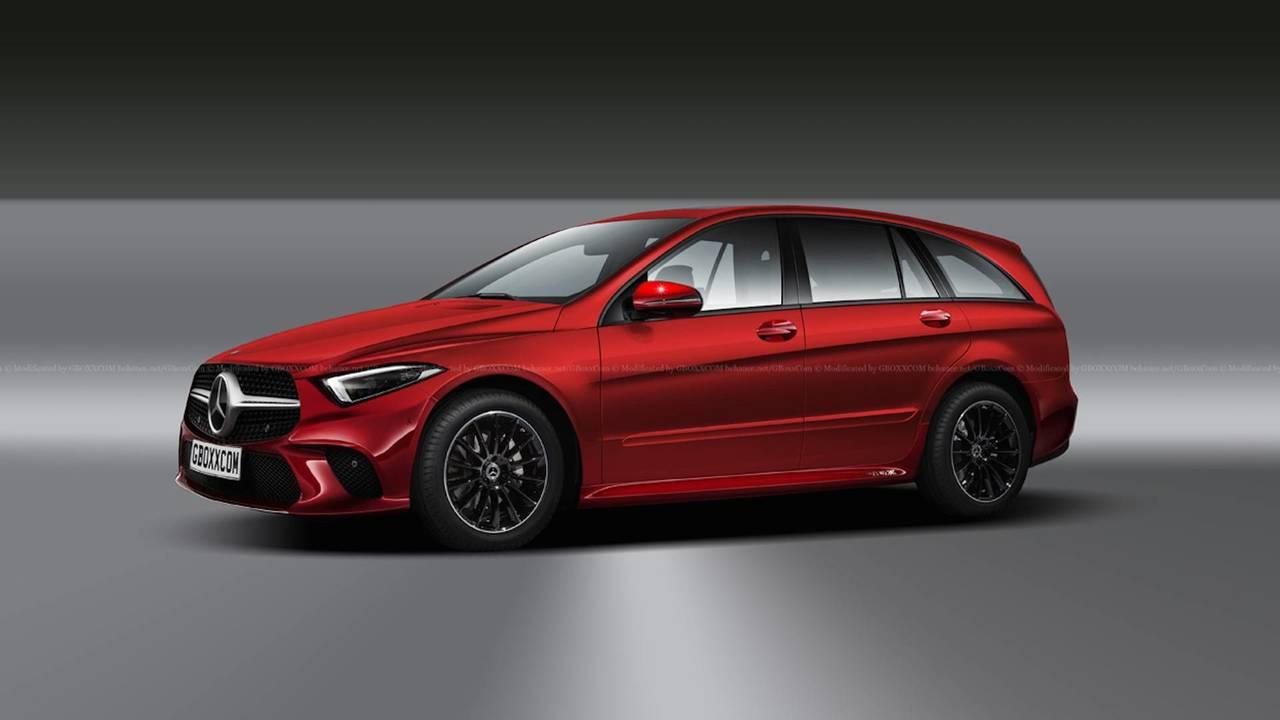 Render Mercedes-Benz Clase R 2018