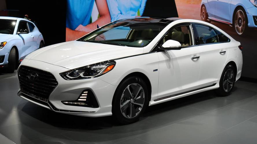 2018 Hyundai Sonata Hybrid ve PHEV Chicago'da
