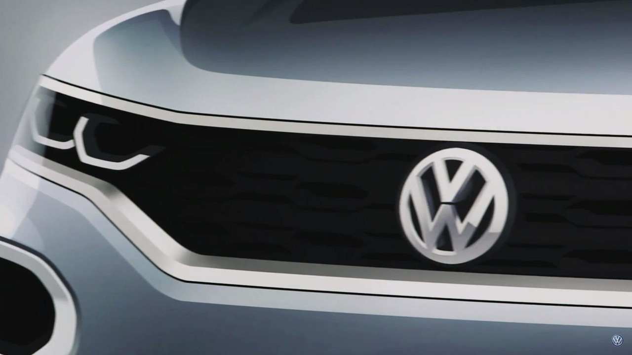 2018 VW T-Roc screenshot from teaser video