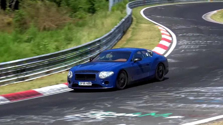 Next Bentley Continental GT Spied Looking Agile In The Corners