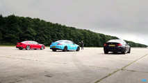 German Coupe Drag Race