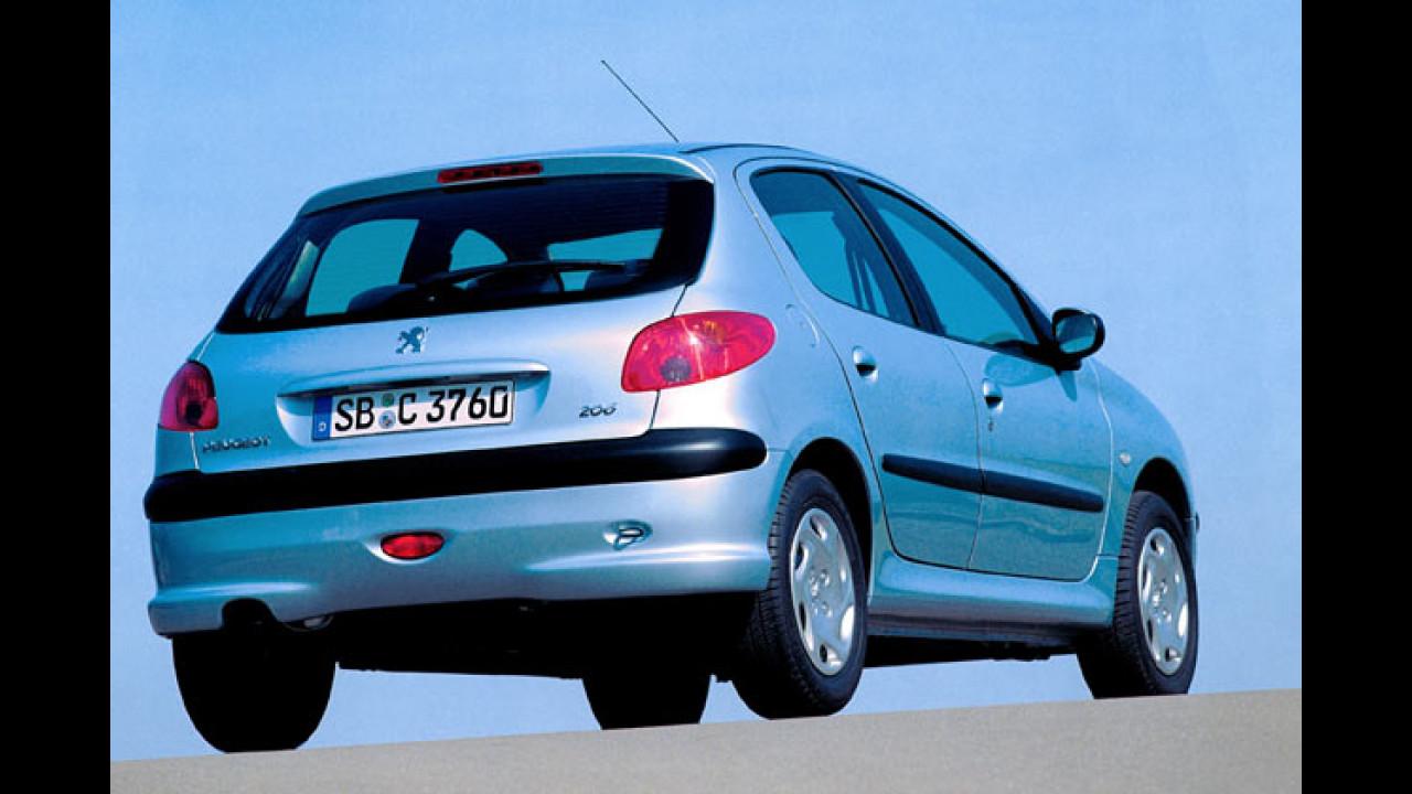 Peugeot 206 unter 10.000 Euro