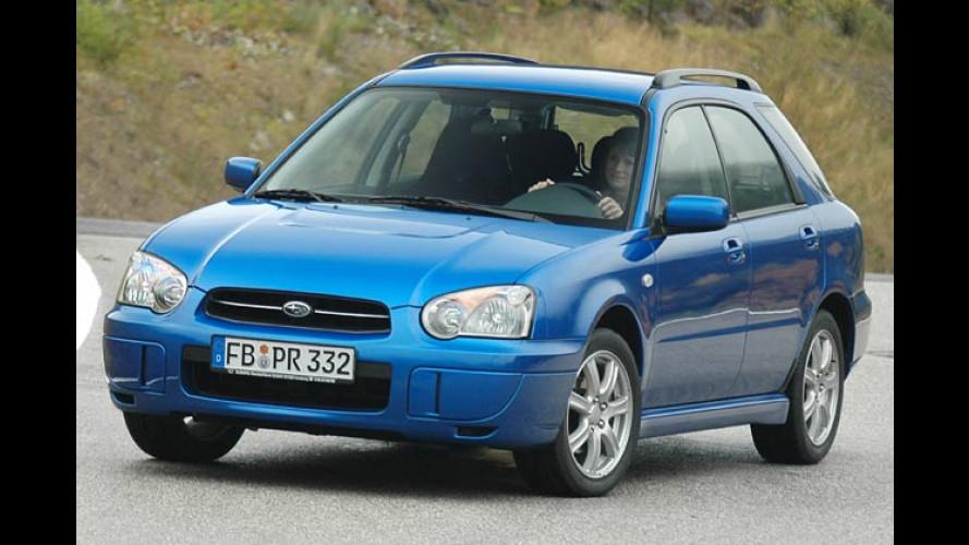 Subaru Impreza RS: Im starken Look der Spitzensportler