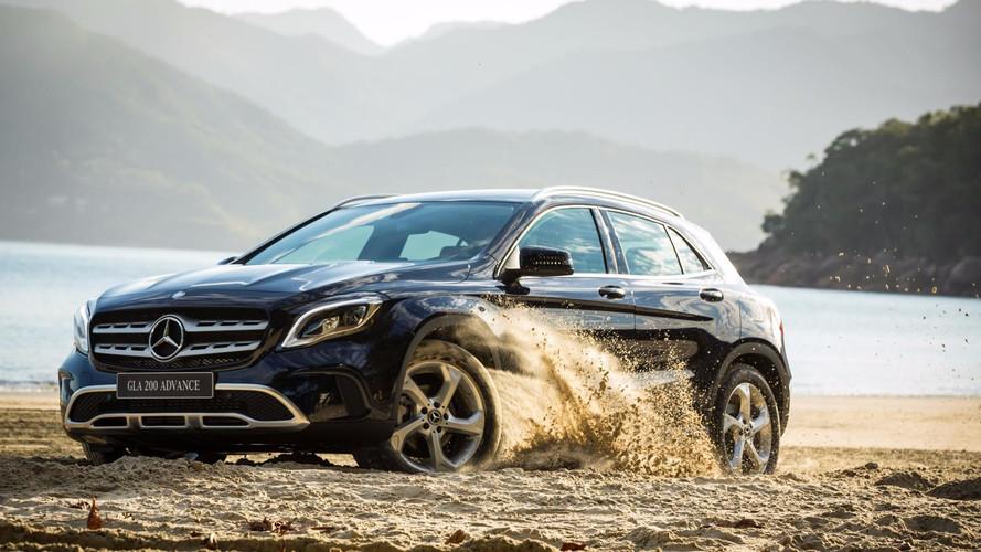 SUVs/crossovers premium – Modelos da Mercedes são destaques em novembro