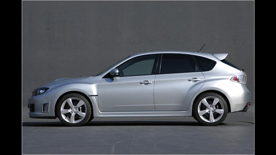 Subaru Bolognese: Europa-Premiere des Impreza WRX STI