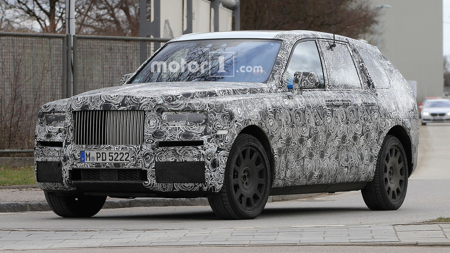 Rolls-Royce Cullinan SUV Caught Testing In Europe