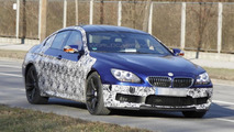 2013 BMW M6 GranCoupe spy photos