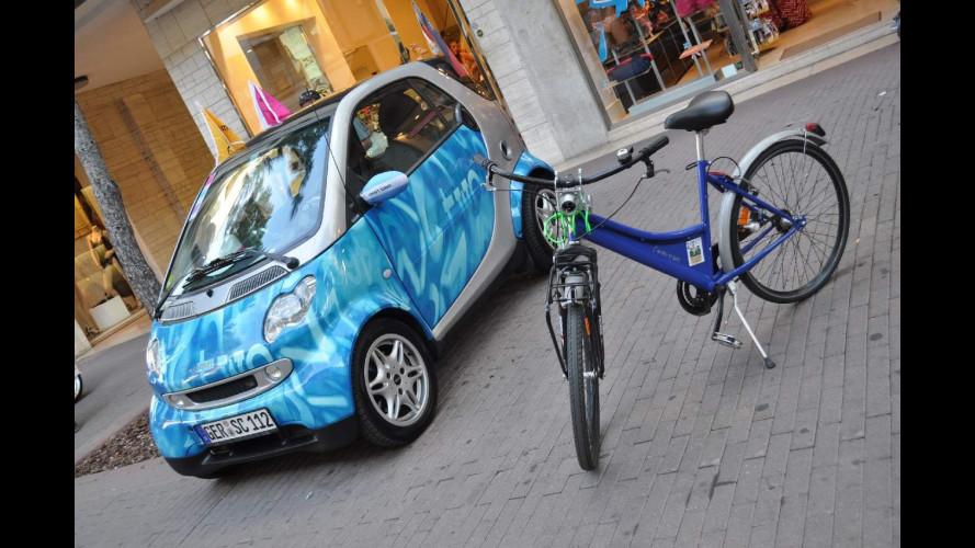 smart times in bicicletta