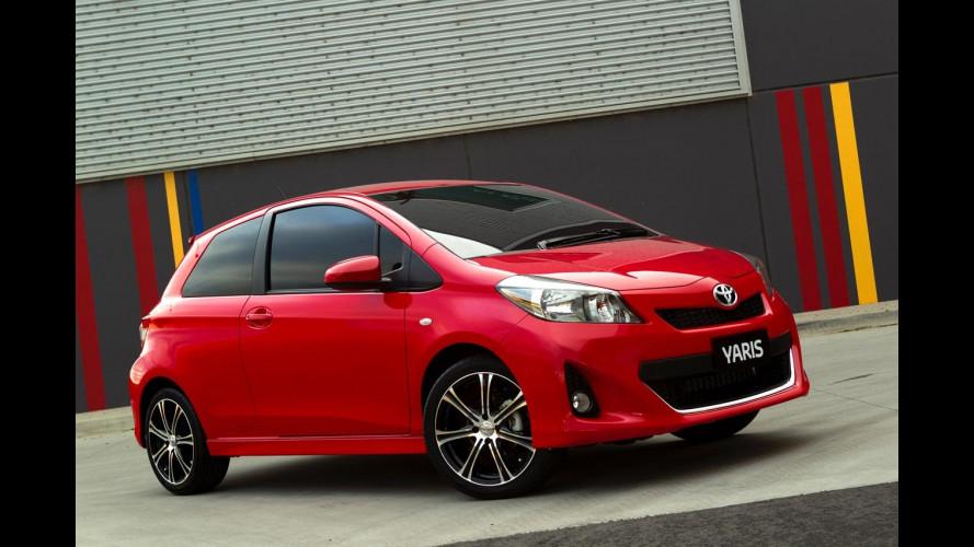 Nuova Toyota Yaris 3 porte: le foto dal web