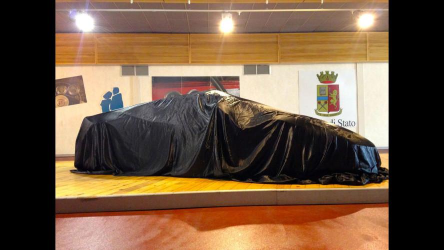 La Lamborghini Huracan Polizia dal vivo: sentite che sound!