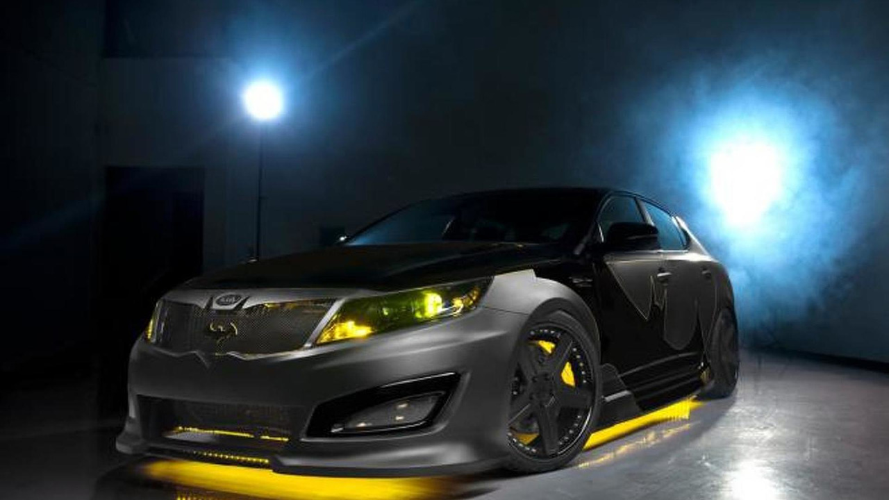 Kia Optima Batman