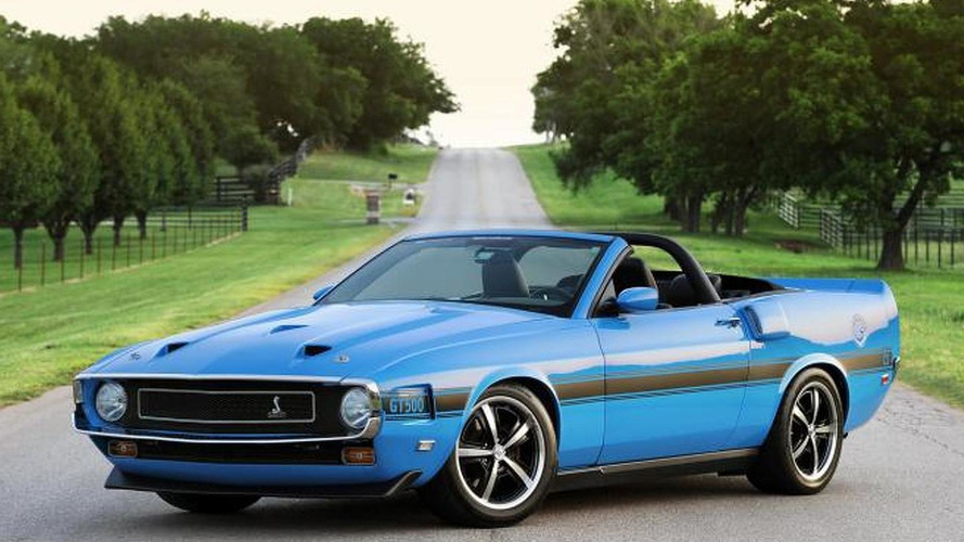 Retrobuilt 1969 Shelby GT 500CS Convertible announced