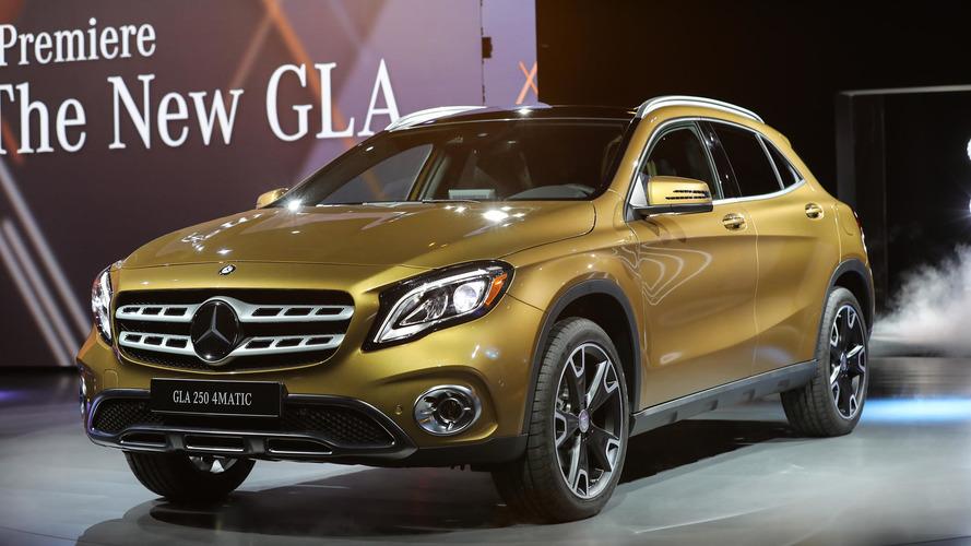 Détroit 2017 - Coup de jeune pour le Mercedes GLA