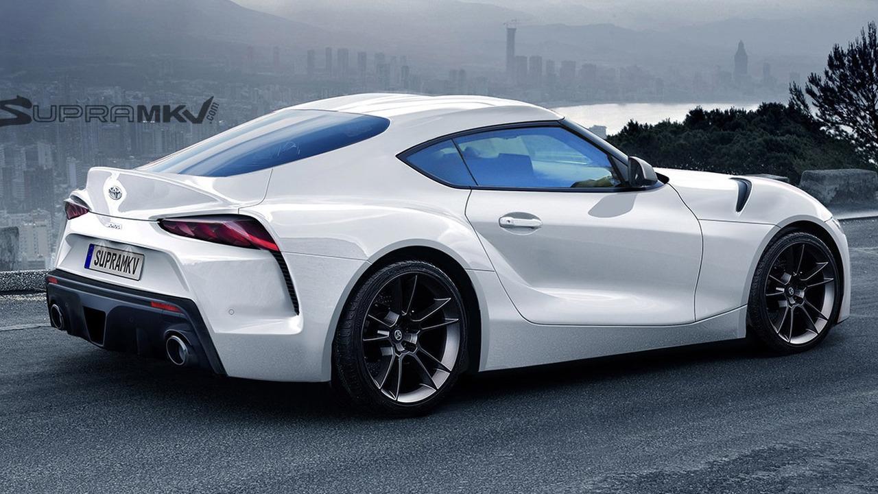 Toyota Supra konsepti tasarım çalışması