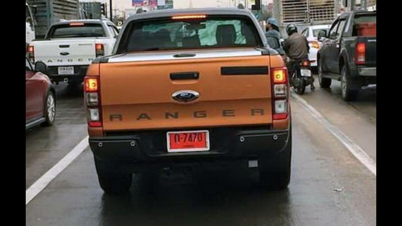 De novo! Nova Ranger Wildtrak aparece mais uma vez antes de estreia