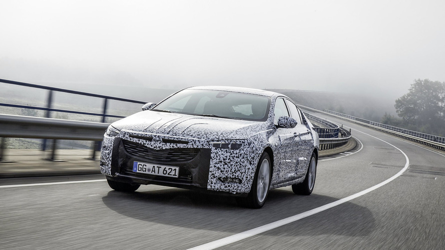 New Opel Insignia gets adaptive chassis and driver-oriented cockpit