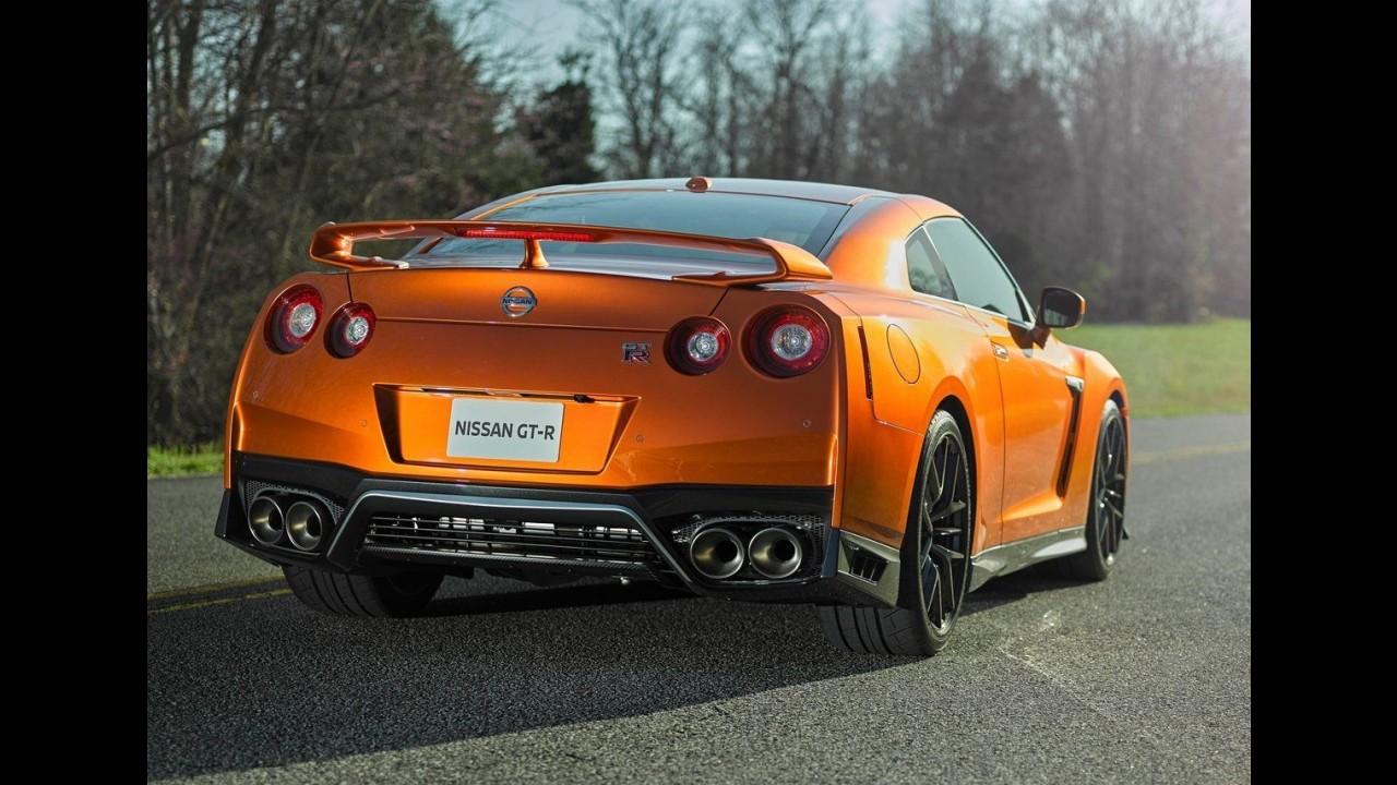 """Nissan GT-R 2017: atualizado, """"Godzilla"""" vai a 572 cv e ganha refinamento"""