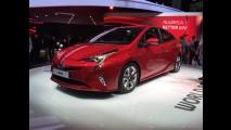 Frankfurt: nem tão belo, novo Prius que será brasileiro até 2018 aparece ao vivo
