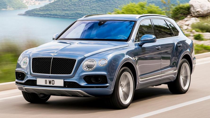 SUV Bentayga ajuda Bentley a bater recorde de vendas em 2016