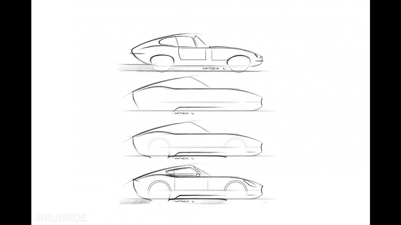 Jaguar E-Type Concept by Laszlo Varga