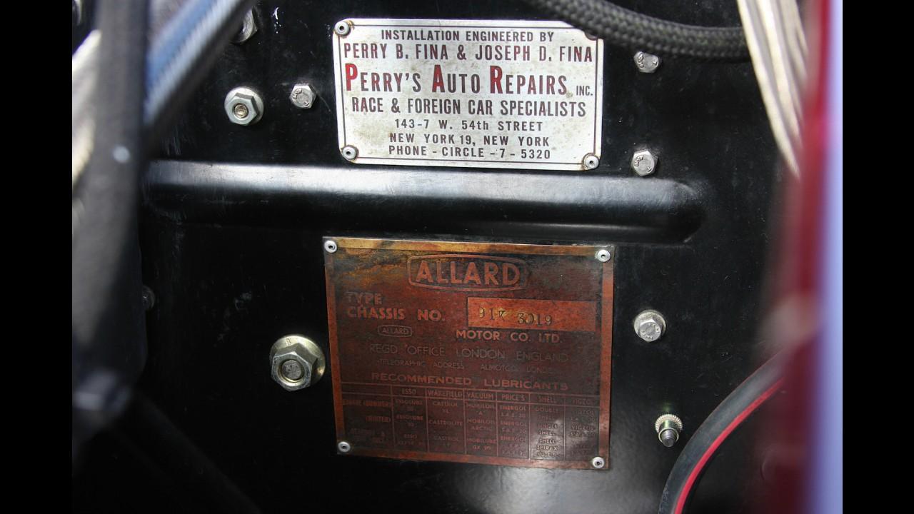 Allard K2 Factory Special Roadster