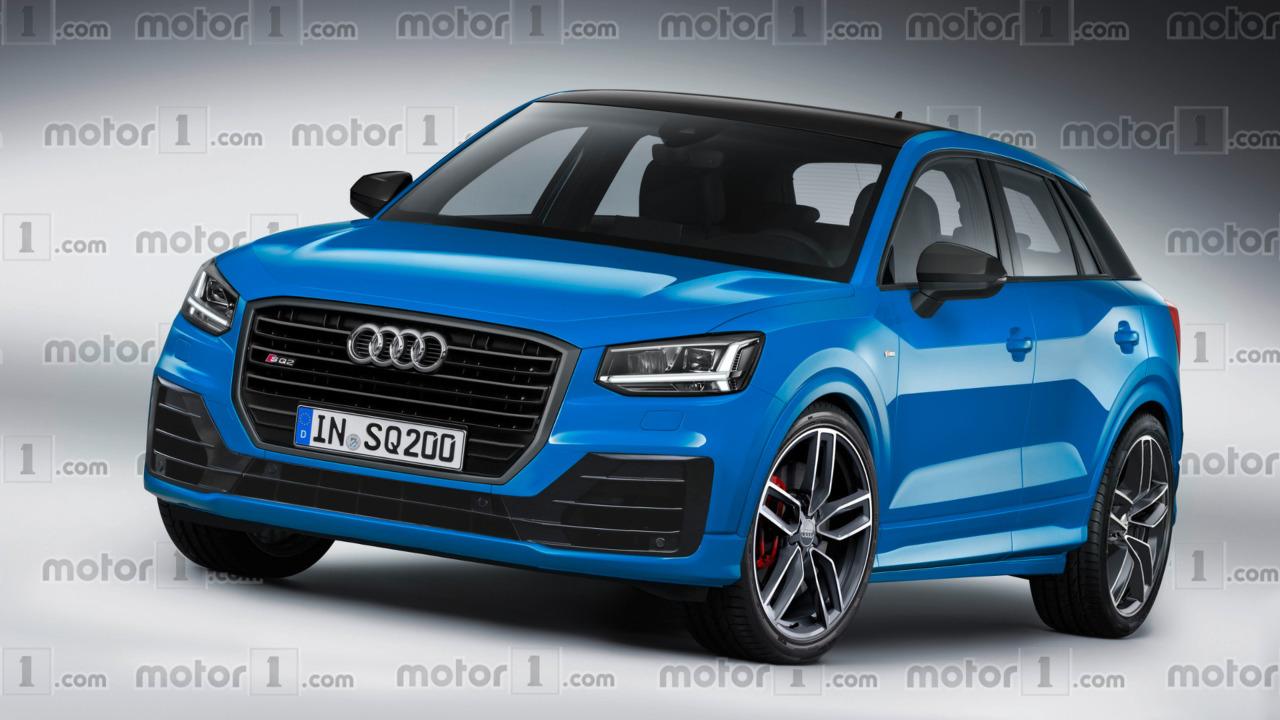 Audi SQ2 rendu