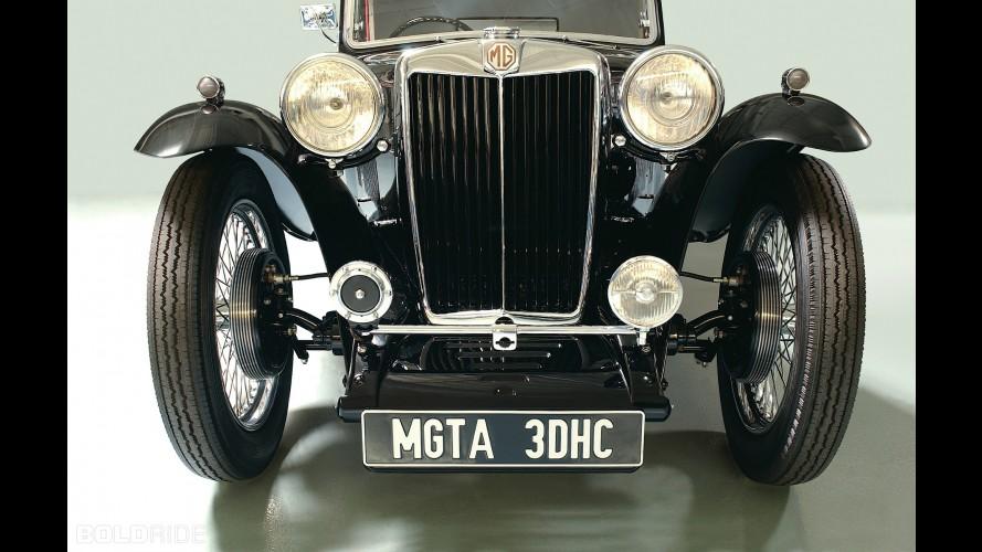 MG TA Drophead Coupe