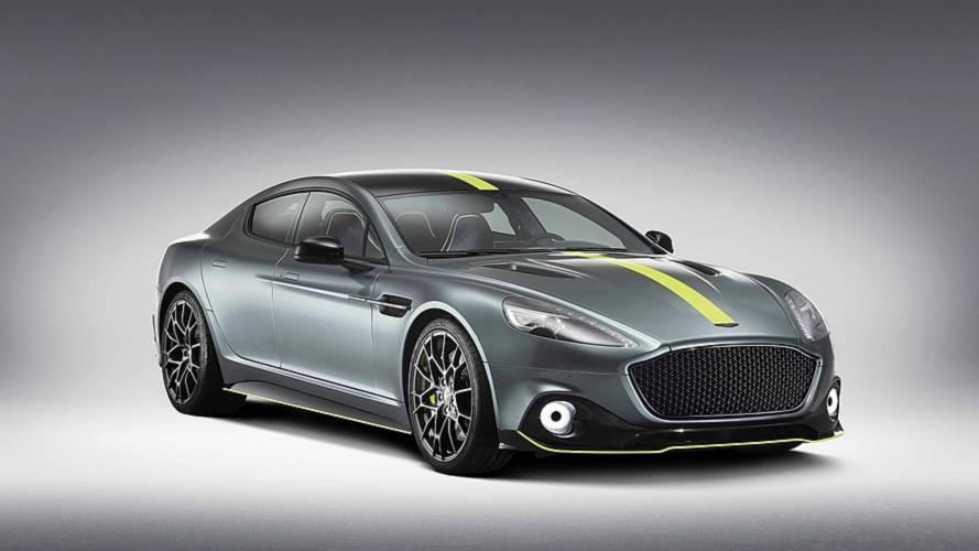 Hattyúdalként érkezhetett az Aston Martin Rapide AMR