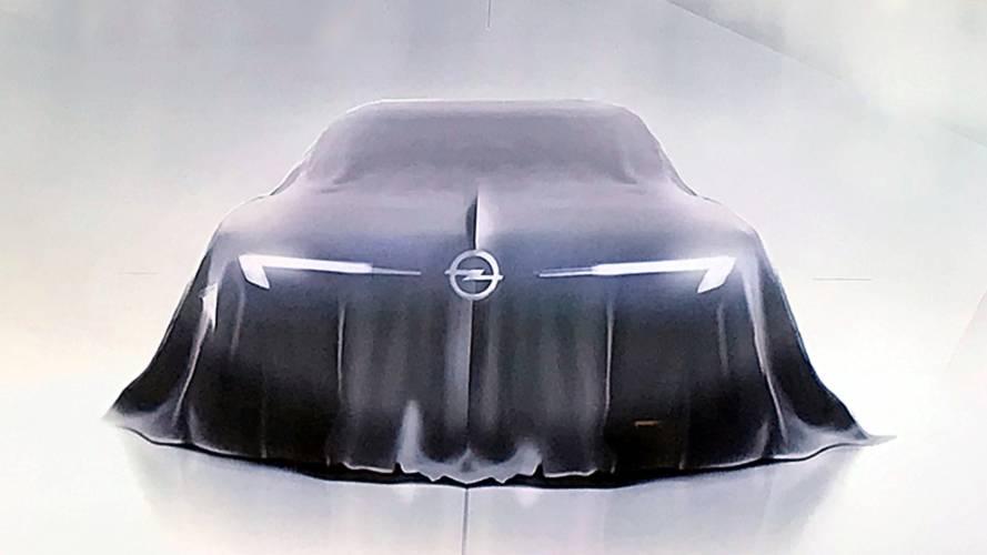 Opel GT, il primo teaser della sportiva tedesca