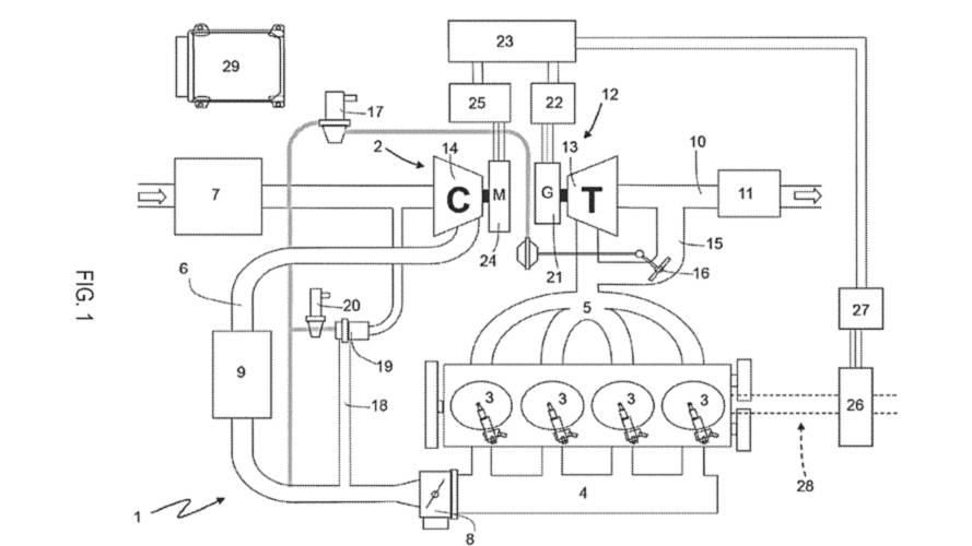 Ferrari, elektrikli turboya sahip bir motor patenti aldı