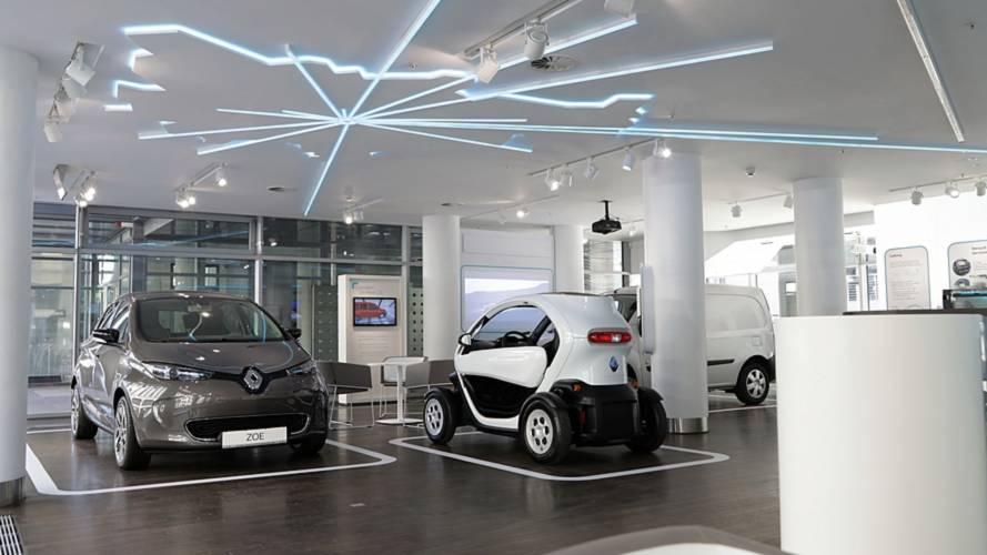 Renault ouvre une nouvelle concession réservée aux voitures électriques