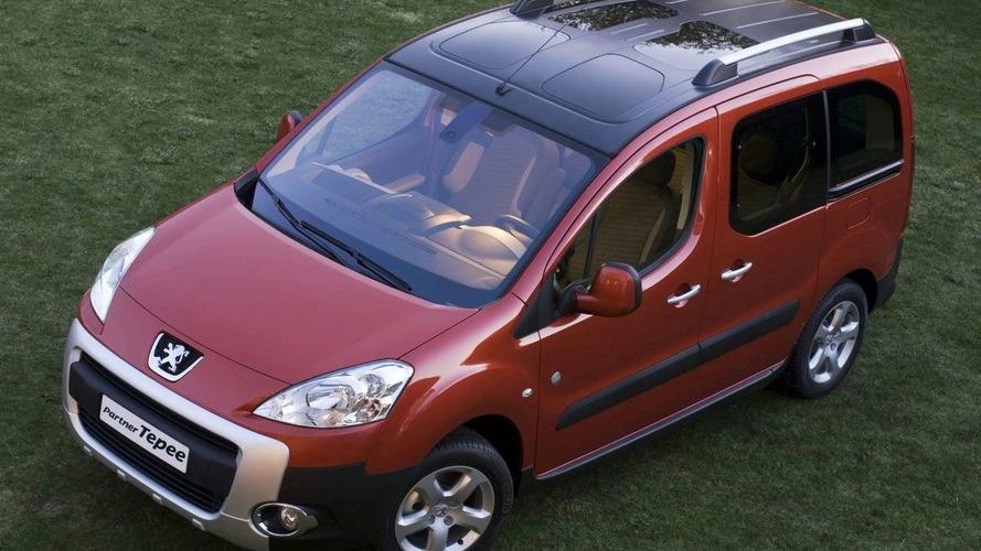 New Peugeot Partner and Partner Tepee Revealed