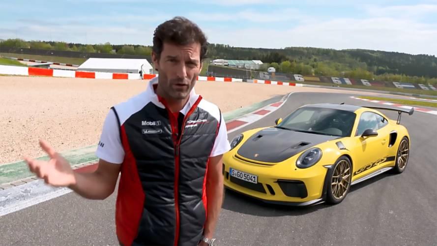 Mark Webber Porsche 911 GT3 RS ile Nürburgring asfaltında