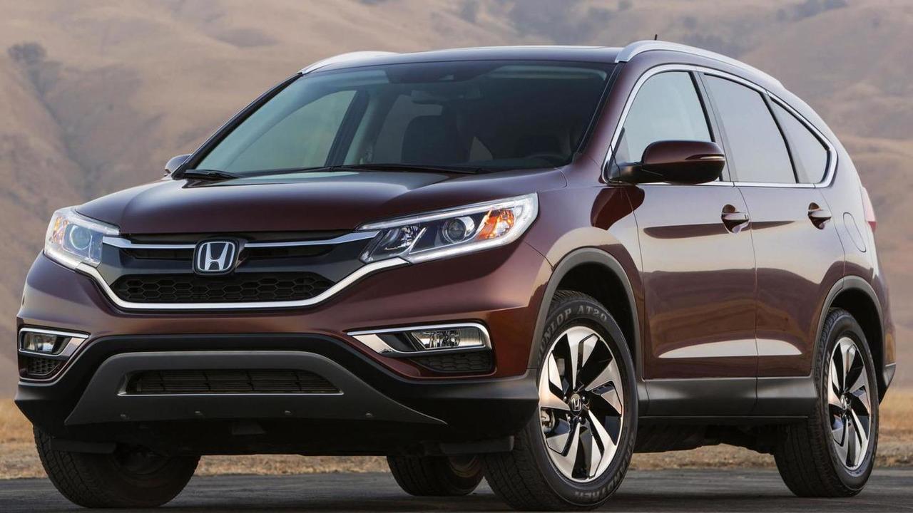 2015 Honda CR-V leaked official photo