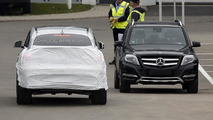 2016 Mercedes-Benz GLE Coupe spy photo