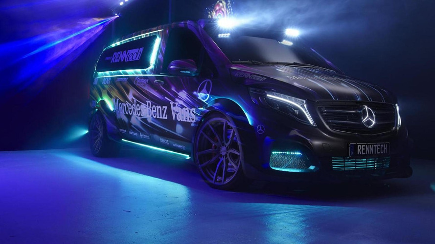 Mercedes-Benz previews Metris midsize van with four concepts at SEMA