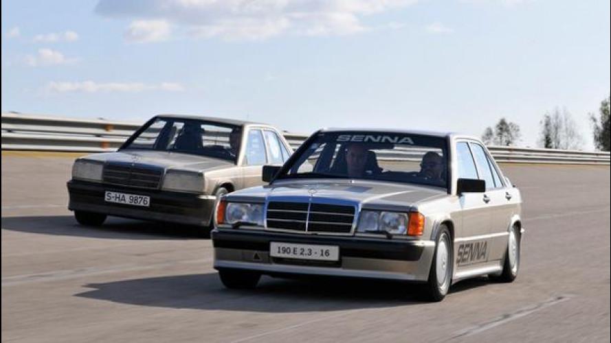 Mercedes 190, la Mercedes si fa