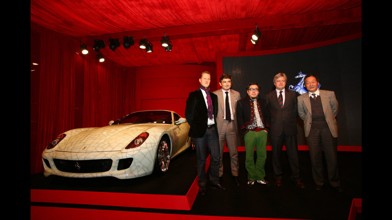 La  Ferrari China Limited Edition presentata a Pechino