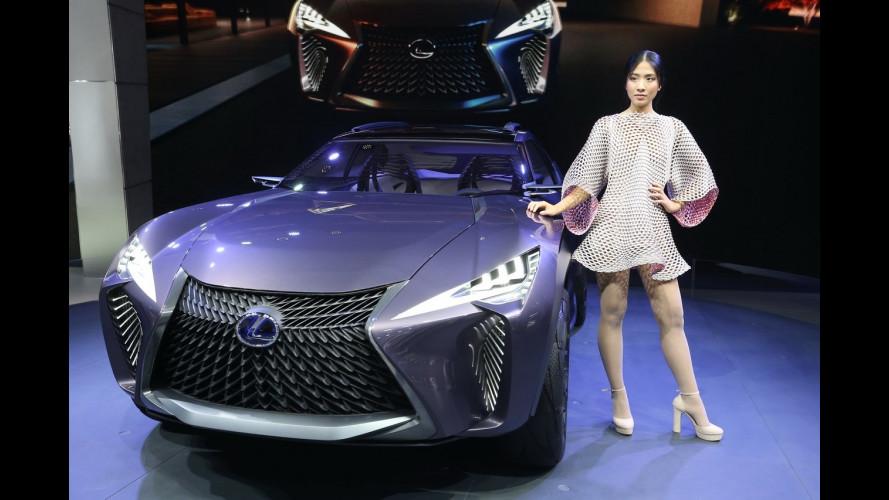 Lexus al Salone di Parigi 2016