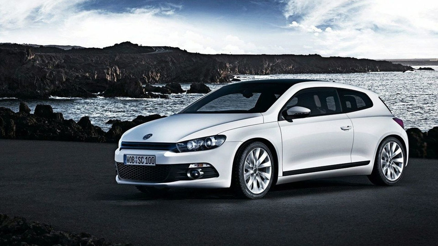 First Official VW Scirocco Photos Leak