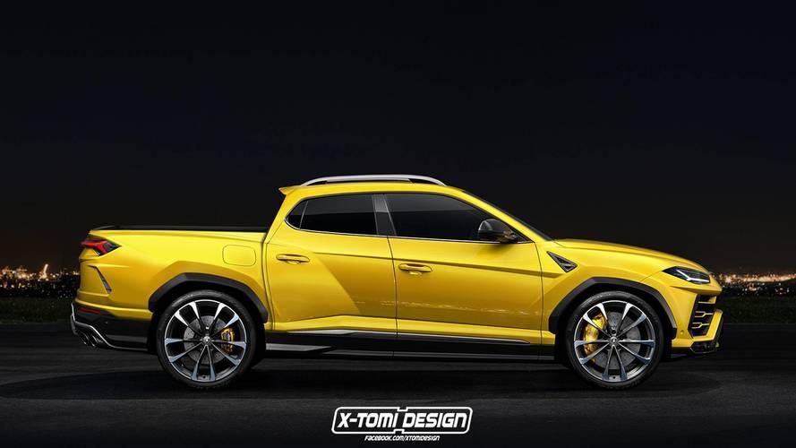 Lamborghini Urus Pickup Rendered Just For Fun