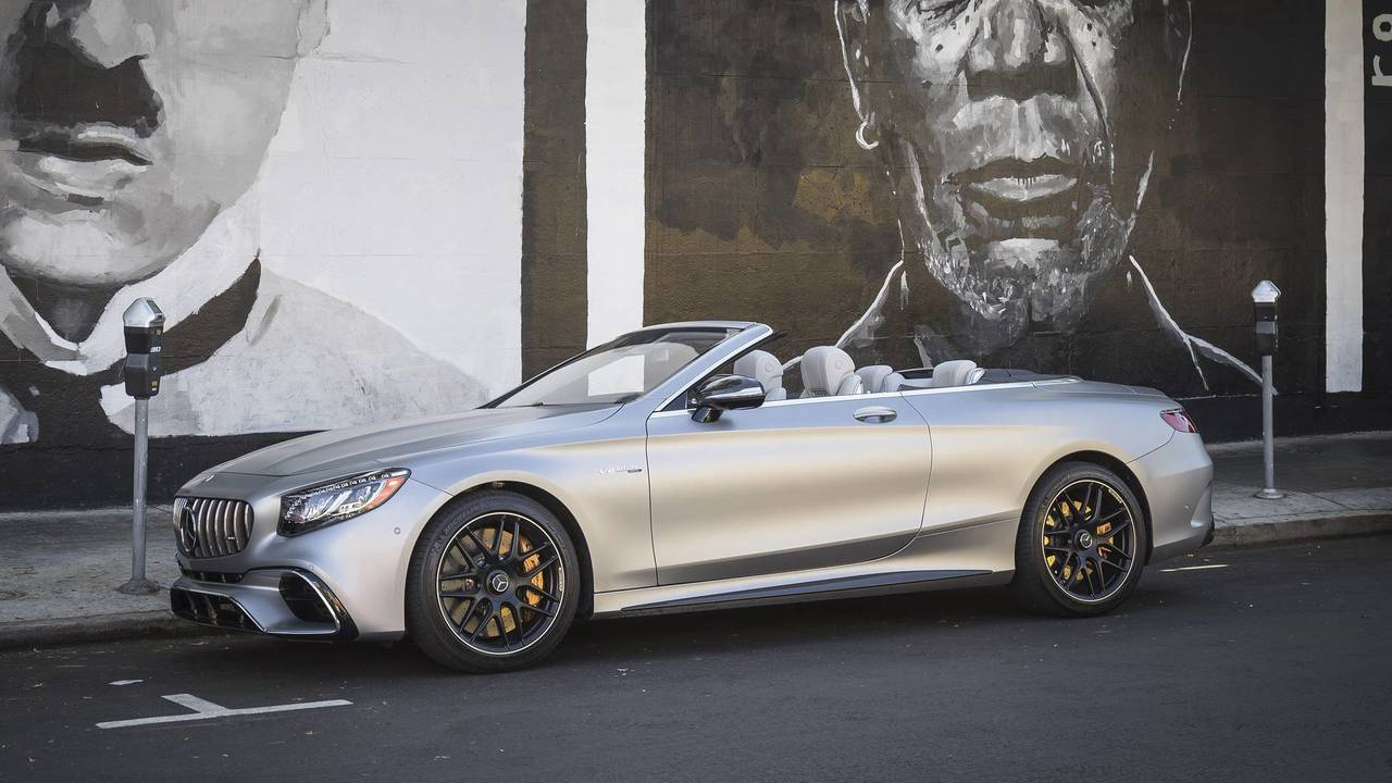 2018 mercedes amg s63 cabriolet review sunshine on fast forward. Black Bedroom Furniture Sets. Home Design Ideas