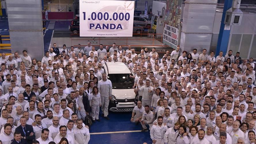 La Fiat Panda actuelle passe le cap du million d'exemplaires
